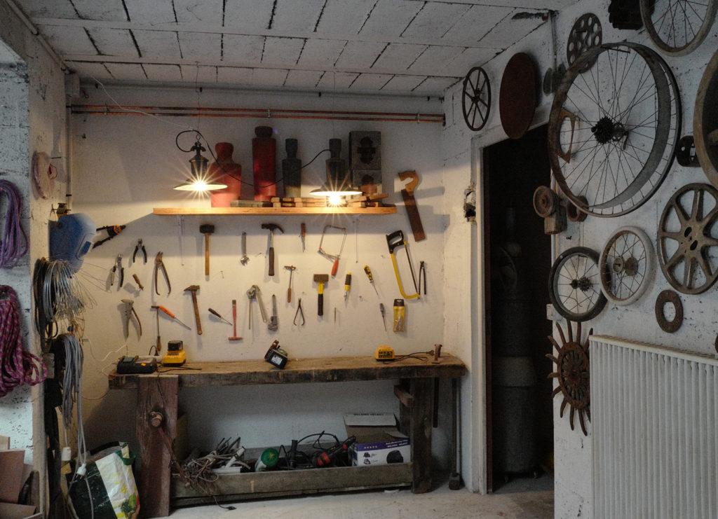 atelier de bricolage et de fabrication